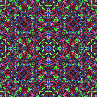 Zentao - Multi Pattern Poster