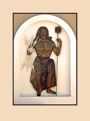 Zeus Guarding Olympus Poster