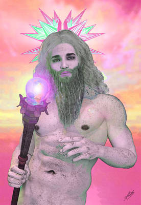Zeus Seen By Ganymede Poster