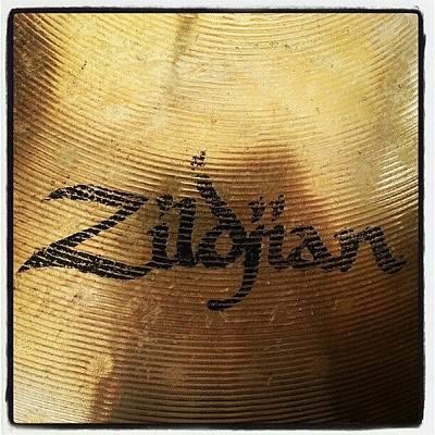 #zildjian #drums #drummer #cymbal Poster by Bradley Whitehead