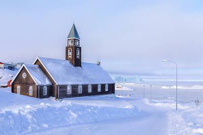 Zion Church Ilulissat - Greenland Poster by Joana Kruse