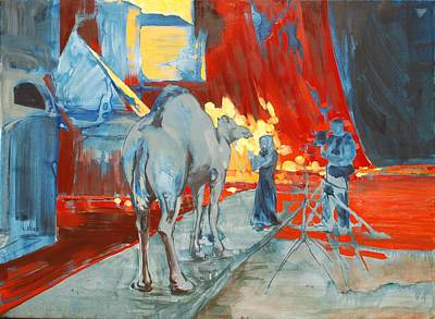 Zohan Camel Poster by Amy Bernays