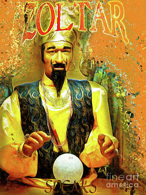 Zoltar Speaks Fortune Teller 20161108 Poster by Wingsdomain Art and Photography