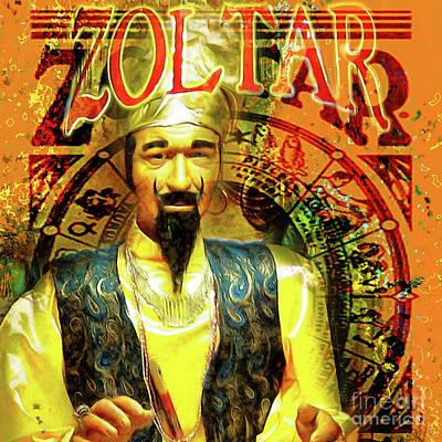 Zoltar Speaks Fortune Teller 20161108v3sq Poster