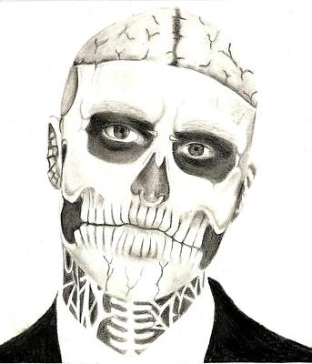 Zombie Boy Poster by Victoria Byers