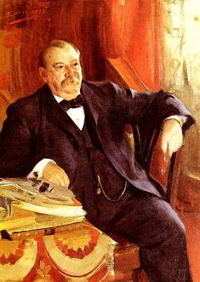 Zorn Anders President Grover Cleveland Poster by Anders Zorn