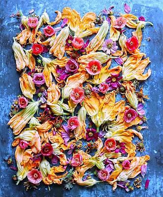 Zucchini Blossoms Season Poster