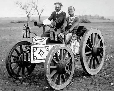 Zulu Motor Cab 1903 Poster