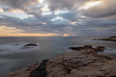 Sunrise On The Costa Brava Poster