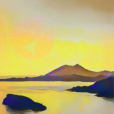 Aegean Sea And Sun Poster
