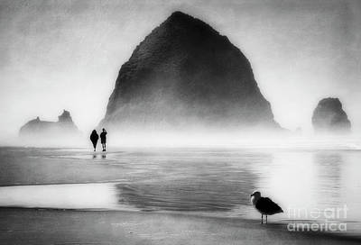 Poster featuring the photograph Beach Walk by Scott Kemper