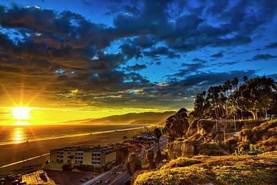 Santa Monica Bay Sunset - 10.1.18 # 1 Poster