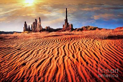 Totem Dunes Poster