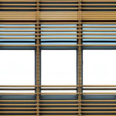 White Windows Poster