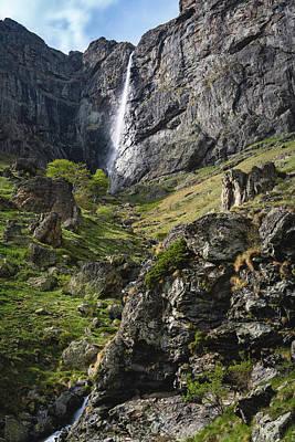 Raysko Praskalo Waterfall, Balkan Mountain Poster
