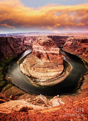 Poster featuring the photograph River Bend by Scott Kemper