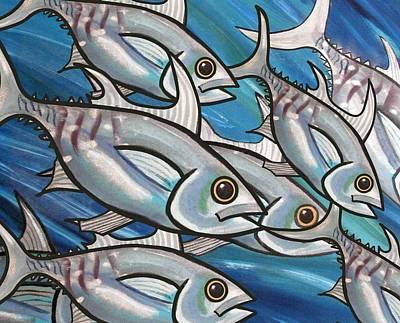 3 Fish Poster