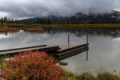 Vermillion Lakes, Banff National Park, Alberta, Canada Poster