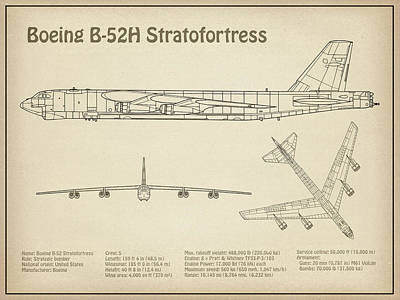 airplane schematic posters fine art america construction schematic b 52 stratofortress airplane blueprint drawing plans or schematics for boeing b