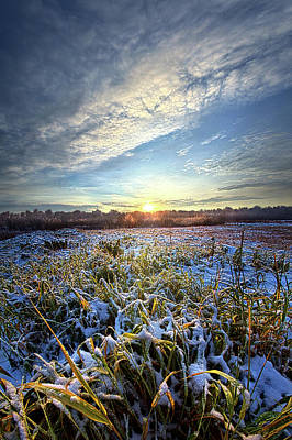 Poster featuring the photograph A Dream Is A Wish That The Heart Makes by Phil Koch