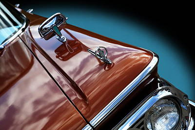Poster featuring the photograph A New Slant On An Old Vehicle - 1959 Edsel Corsair by Debi Dalio