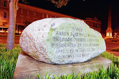 Poster featuring the photograph A Rock In Chester by Joseph C Hinson Photography