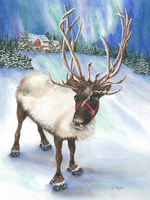 A Winter's Walk Poster