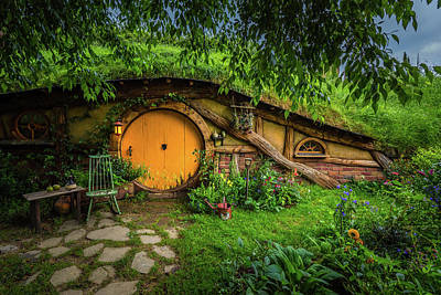 Hobbiton Afternoon Poster