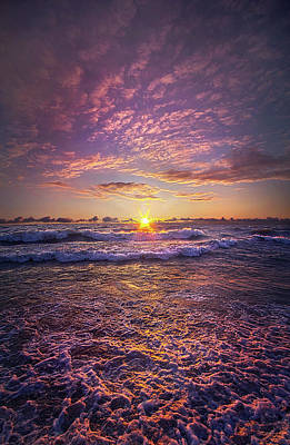 Poster featuring the photograph And Then Begin Again by Phil Koch