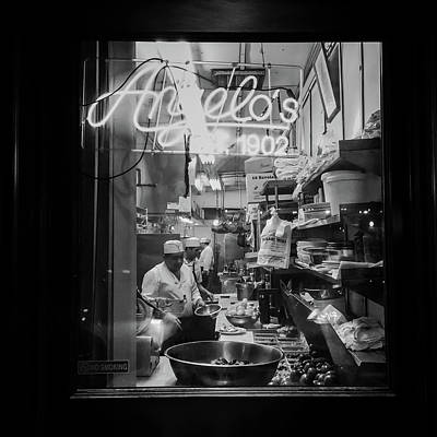 Angelo's Of Mulberry Street Poster