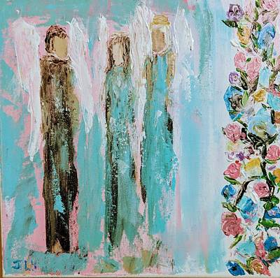 Angels In The Garden Poster