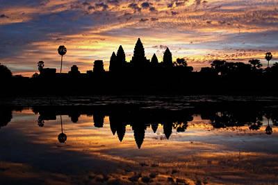 Angkor Wat Sunrise Poster
