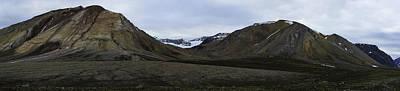 Arctic Mountain Landscape Poster