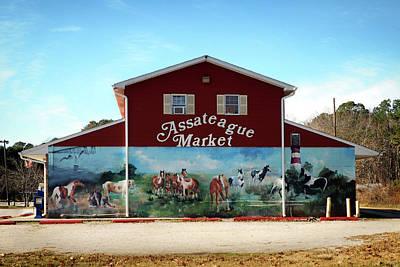 Poster featuring the photograph Assateague Market by Bill Swartwout Fine Art Photography