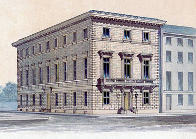 Athenaeum Perspective Poster