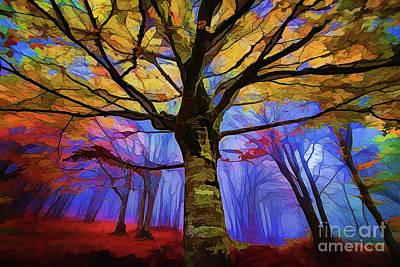 Autumn A18-120 Poster