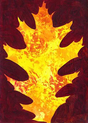 Autumn Oak 1 Poster