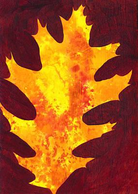 Autumn Oak 2 Poster