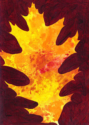 Autumn Oak 3 Poster