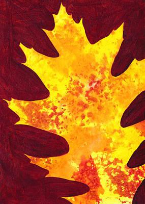 Autumn Oak 4 Poster