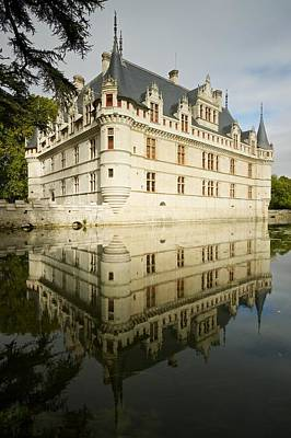 Poster featuring the photograph Azay-le-rideau by Stephen Taylor