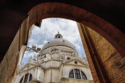Basilica Di Santa Maria Della Salute Venice Italy Poster