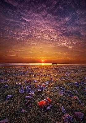 Poster featuring the photograph Be The Light by Phil Koch