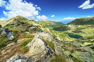 Beautiful Landscape Of Pirin Mountain Poster