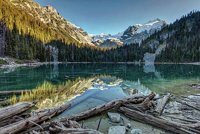 Poster featuring the photograph Beautiful Nature Of Joffre Lakes by Pierre Leclerc Photography