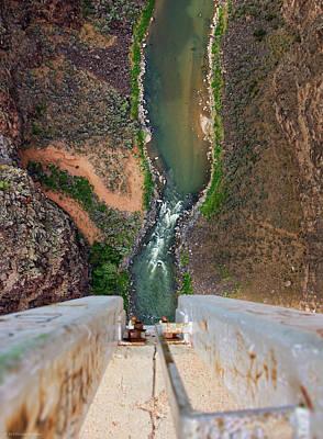 Below The Bridge Poster