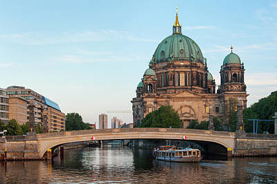 Berliner Dom And River Spree In Berlin Poster