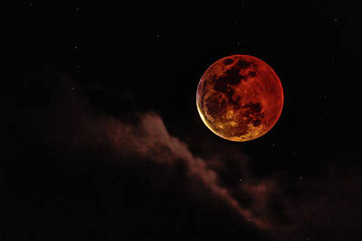 Blood Moon Rising Poster