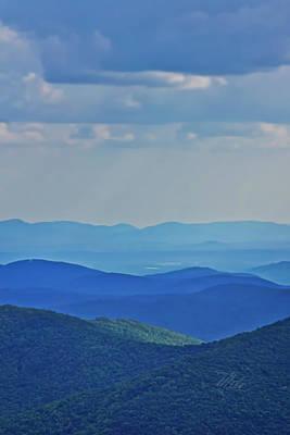 Blue Ridge Mountains Poster
