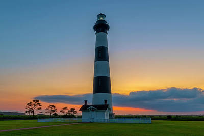 Bodie Island Lighthouse, Hatteras, Outer Bank Poster